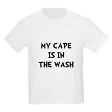 Cape In Wash Black T-Shirt