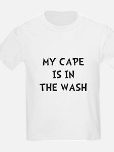 Cape In Wash Black T-Shirt