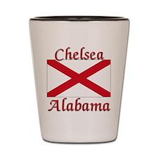Chelsea Alabama Shot Glass
