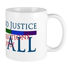 Liberty And Justice For All Small Mugs
