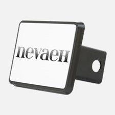 Nevaeh Carved Metal Hitch Cover