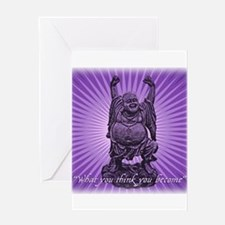 Buddha Smiles Greeting Card