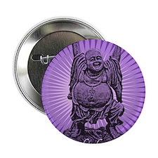 """Buddha Smiles 2.25"""" Button"""
