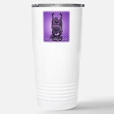 Buddha Smiles Stainless Steel Travel Mug