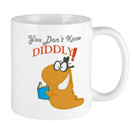 You Dont Know DIDDLY! Mug