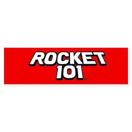 Rocket 101 WRKT 100.9 Bumper Sticker