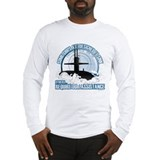Navy submarine Long Sleeve T-shirts