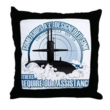 Designed to Sink Throw Pillow