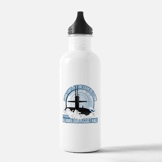 Designed to Sink Water Bottle