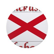 Chickasaw Alabama Ornament (Round)