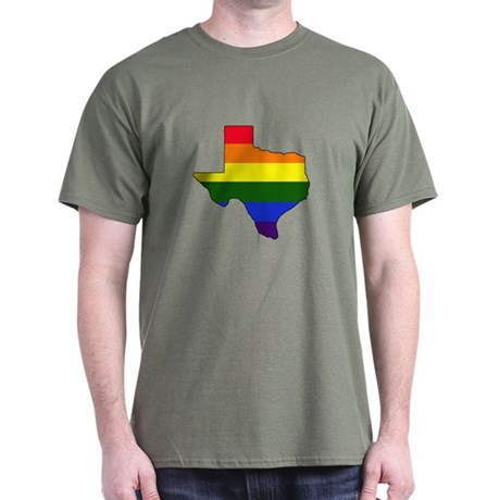 Texas Gay Pride Dark T-Shirt
