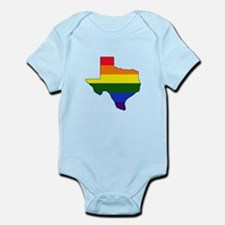 Texas Gay Pride Infant Bodysuit