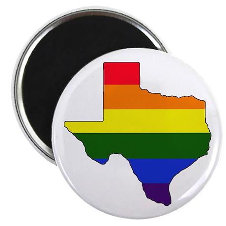 Texas Gay Pride Magnet