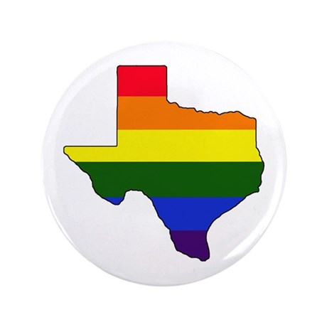 "Texas Gay Pride 3.5"" Button"