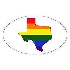 Texas Gay Pride Decal