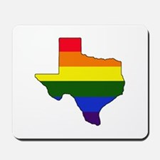 Texas Gay Pride Mousepad