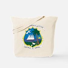 Liberia Coat Of Arms Tote Bag