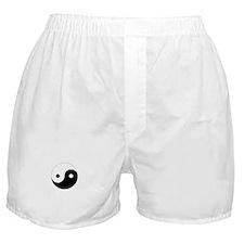 Yin Yang Symbol Boxer Shorts