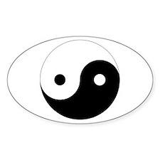 Yin Yang Symbol Decal