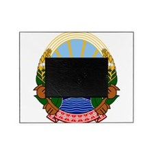 Macedonia Coat Of Arms Picture Frame