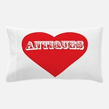 I Love Antiques Pillow Case