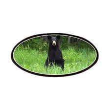 Black Bear pointing Patches