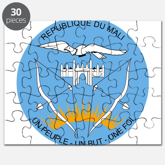 Mali Coat Of Arms Puzzle