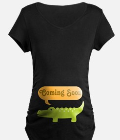 Funny Coming Soon Alligator T-Shirt