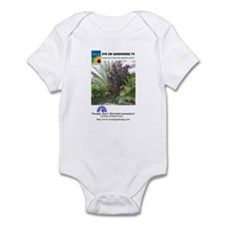 EOGTV Tropical Logos Infant Creeper
