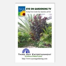 EOGTV Tropical Logos Postcards (Package of 8)