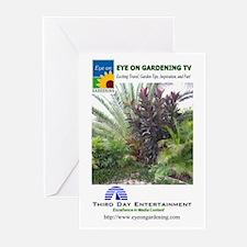 EOGTV Tropical Logos Greeting Cards (Pk of 10)