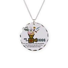 Law and Sausage Necklace