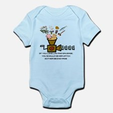 Law and Sausage Infant Bodysuit