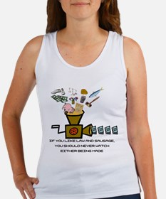 Law and Sausage Women's Tank Top