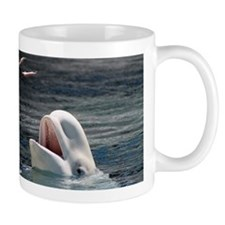Beluga Whales 5 Small Mug