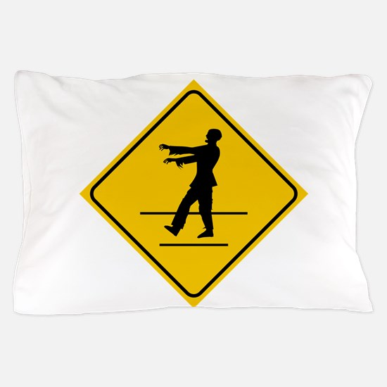 ZombieCrossing Pillow Case