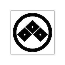 """maruni_mitume Square Sticker 3"""" x 3"""""""