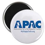 """APAC Logo 2.25"""" Magnet (10 pack)"""