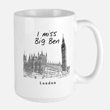 London Big Ben Large Mug