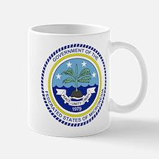 Micronesia Coat Of Arms Mug