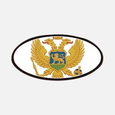 Montenegro Coat Of Arms Patches