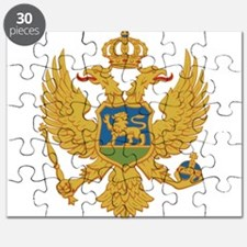 Montenegro Coat Of Arms Puzzle
