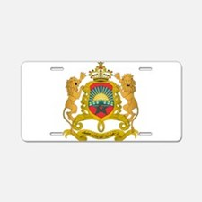 Morocco Coat Of Arms Aluminum License Plate