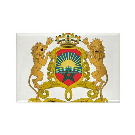 Morocco Coat Of Arms Rectangle Magnet (10 pack)