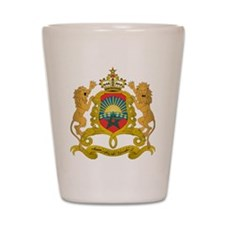 Morocco Coat Of Arms Shot Glass