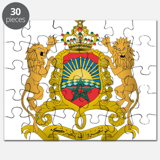 Morocco Coat Of Arms Puzzle