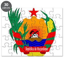Mozambique Coat Of Arms Puzzle