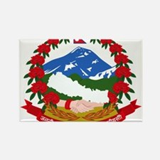 Nepal Coat Of Arms Rectangle Magnet