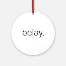 Belay Ornament (Round)