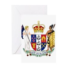 New Zealand Coat Of Arms Greeting Card